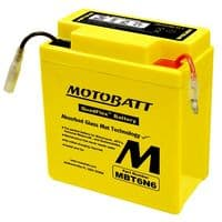 MBT6N6 Motobatt AGM Motorcycle Battery 6v 6Ah (6N61B, 6N63B, 6N63B1, 6N61D, 6N61D2) Buy Online from The Battery Shop