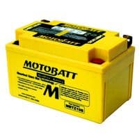 MBTZ10S Motobatt AGM Motorcycle Battery 12v 8Ah 140CCA (YTX7ABS, YTZ10S) Buy Online from The Battery Shop