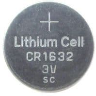 VALUE - CR1632 3v lithium battery From £0.83 EX VAT Buy Online from The Battery Shop