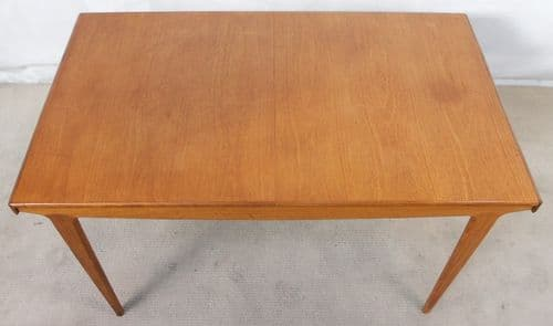 1960's Retro Teak Extending Dining Table to Seat Ten - SOLD