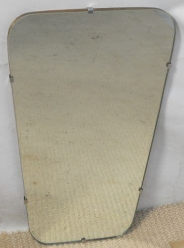 Art Deco Frameless Hanging Wall Mirror