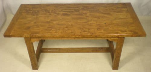 Elm Rustic Kitchen Dining Table - SOLD