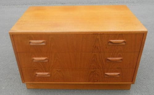 G Plan Low Small Chest of Drawers