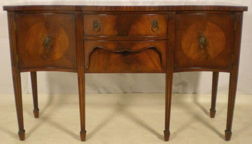 Georgian Style Mahogany Six Legged Sideboard