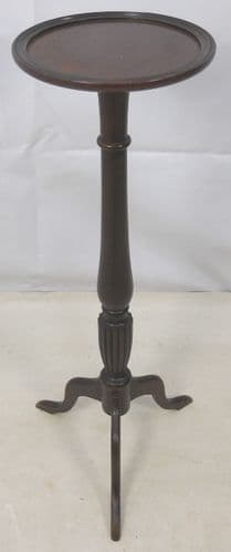 Georgian Style Mahogany Torchere Plant Stand - SOLD