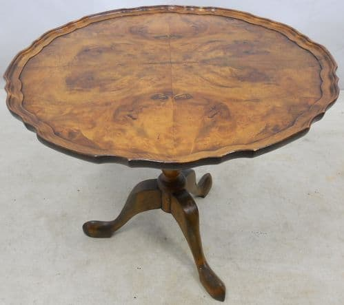 Georgian Style Walnut Tripod Table