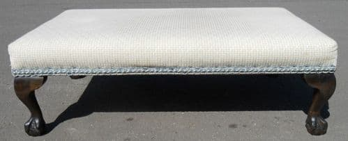Large Upholstered Stool