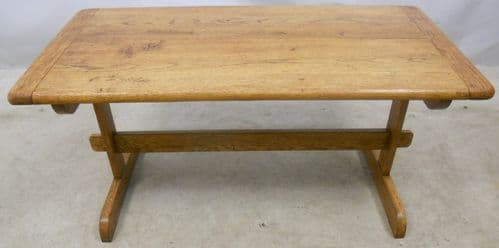 Light Oak Refectory Style Coffee Table