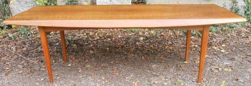 Long Teak Coffee Table by Gordon Russell