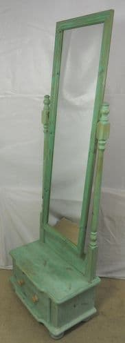 Painted Cheval Dressing Mirror