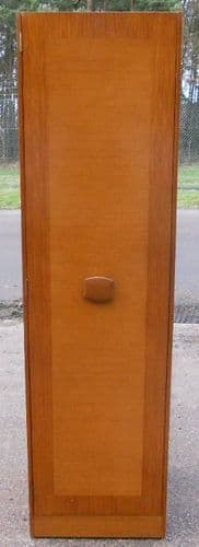 Slim Single Teak 1960's Hall Wardrobe