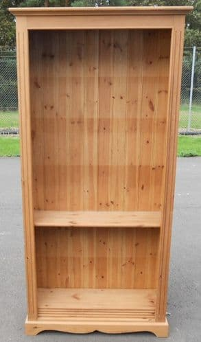 Tall Pine Open Cabinet Bookcase