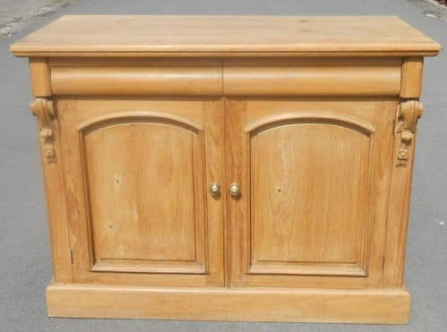 Victorian Style Pine Sideboard Base