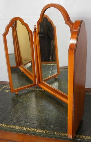 Yew Triple Dressing Mirror by Bradley