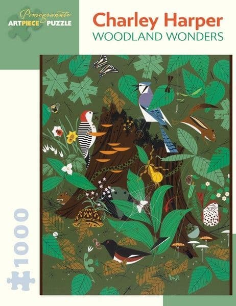 Charley Harper - Woodland Wonder - 1000 Pieces