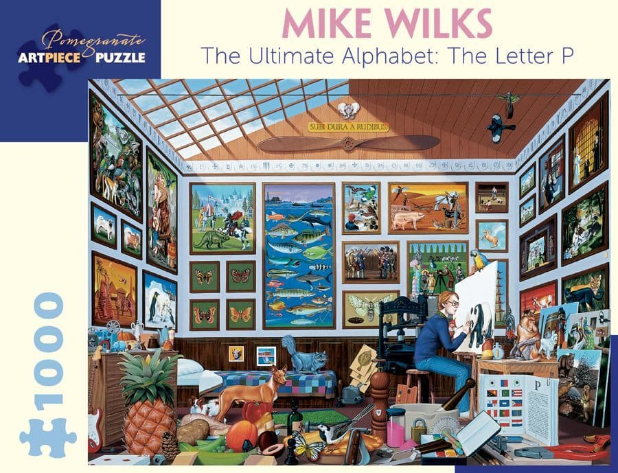 Mike Wilks - Letter P - 1000 Pieces