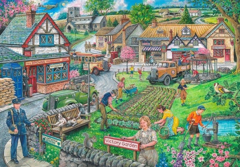 Wartime Green 1000 Pieces