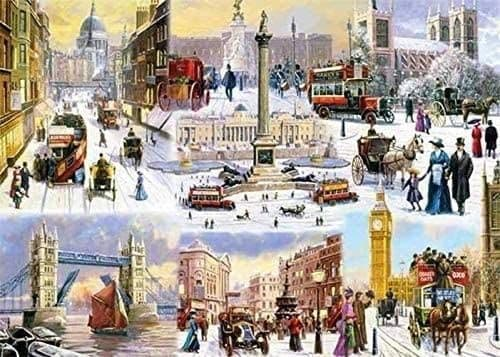 A Winter In London - 1000 Pieces