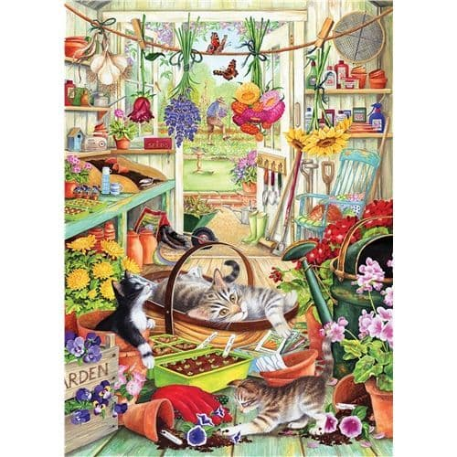 Allotment Kittens  - 500XL piece