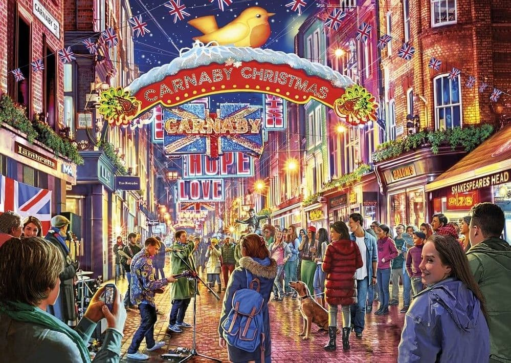 Carnaby Street - 500 Pieces