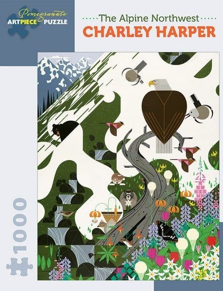 Charley Harper - Alpine Northwest - 1000 Pieces
