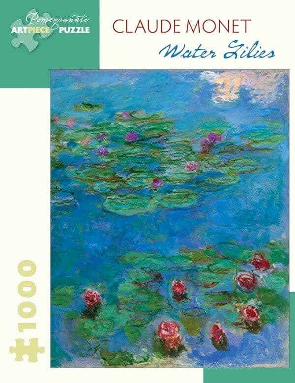 Claude Monet - Water Lilles - 1000 Pieces