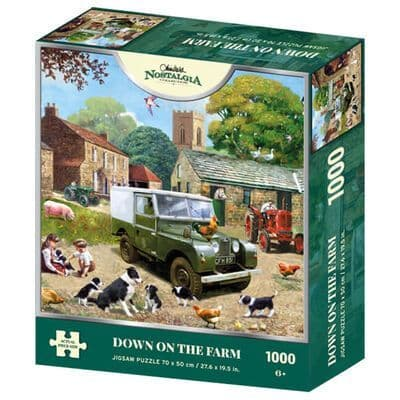 Down on the Farm - 1000 Pieces