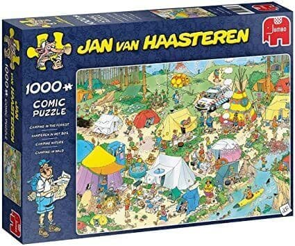 JVH Camping in the Forest - 1000 Pieces|Yorkshire Jigsaw Store
