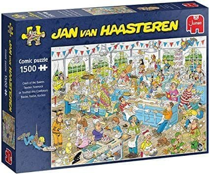 JVH Clash of the Bakers - 1500 Pieces
