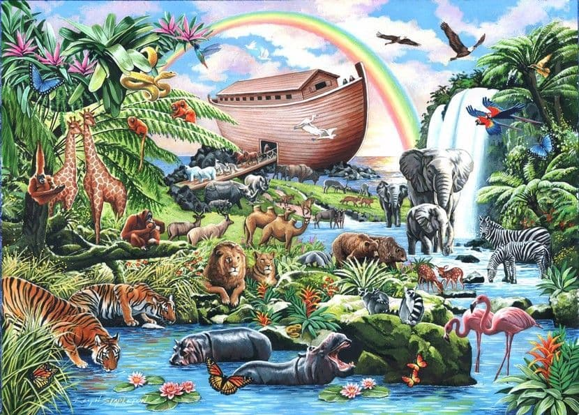 Noah's Ark - 500XL Pieces