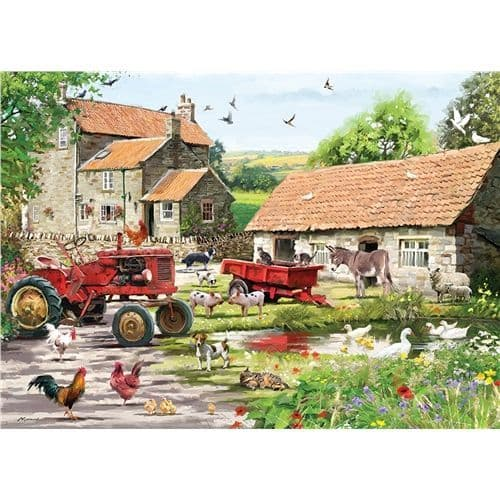 On the Farm - 500 Pieces