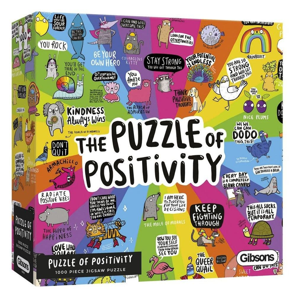 Puzzle of Positivity - 1000 Pieces