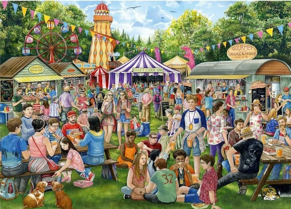 Sausage and Cider Festival - 1000 Pieces