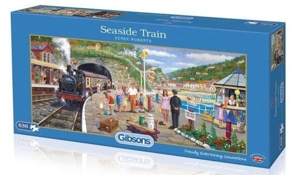 Seaside Train - 636 Pieces