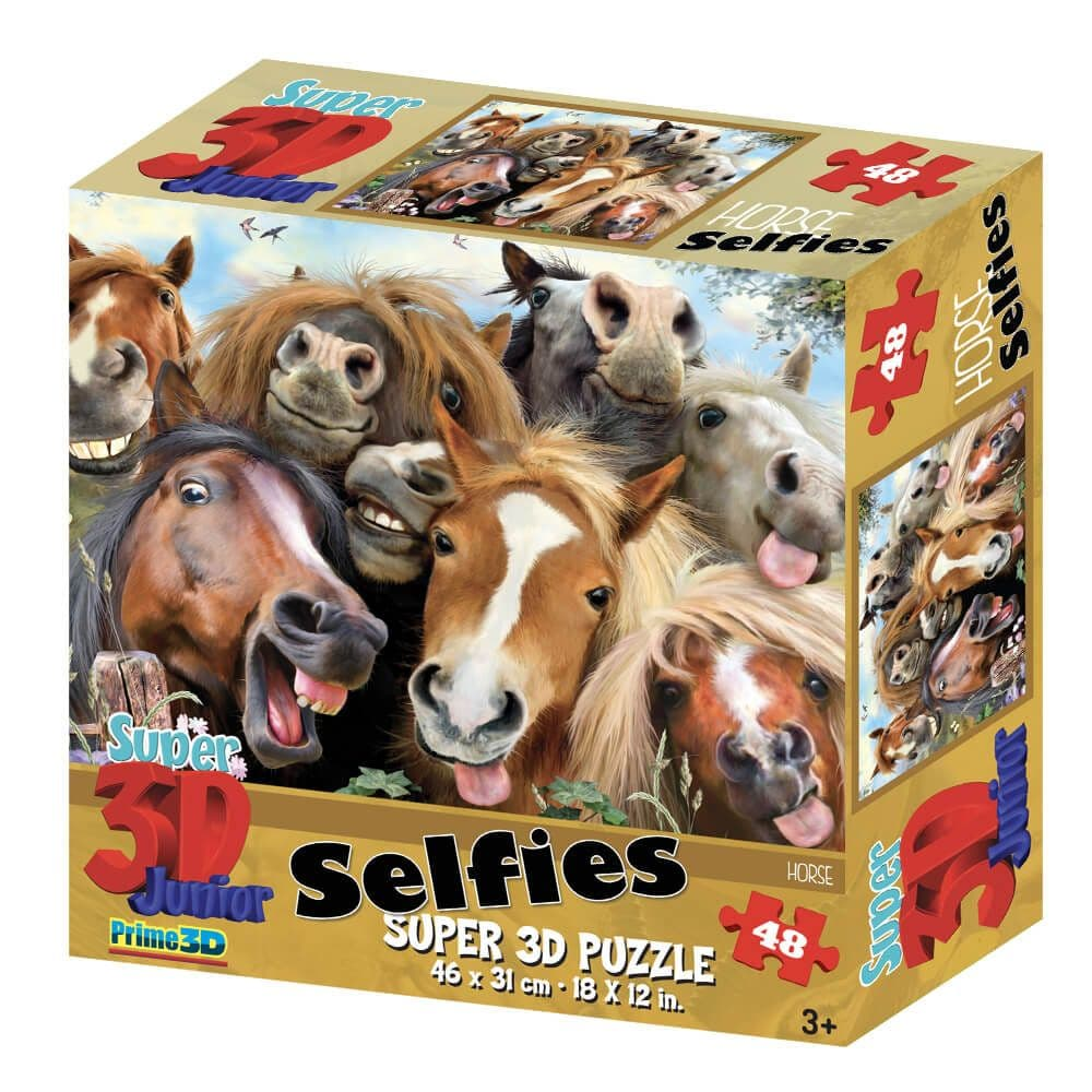 Selfies Horses - 48 Pieces