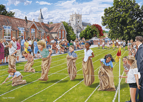 Sports Day - 1000 Pieces|Yorkshire Jigsaw Store