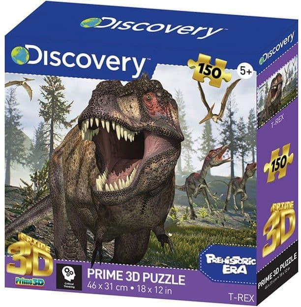 T Rex - Discovery 150 Pieces