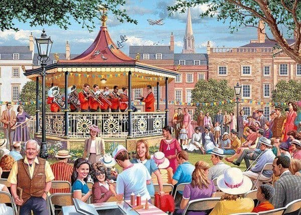 The Bandstand - 1000 Pieces Yorkshire Jigsaw Store