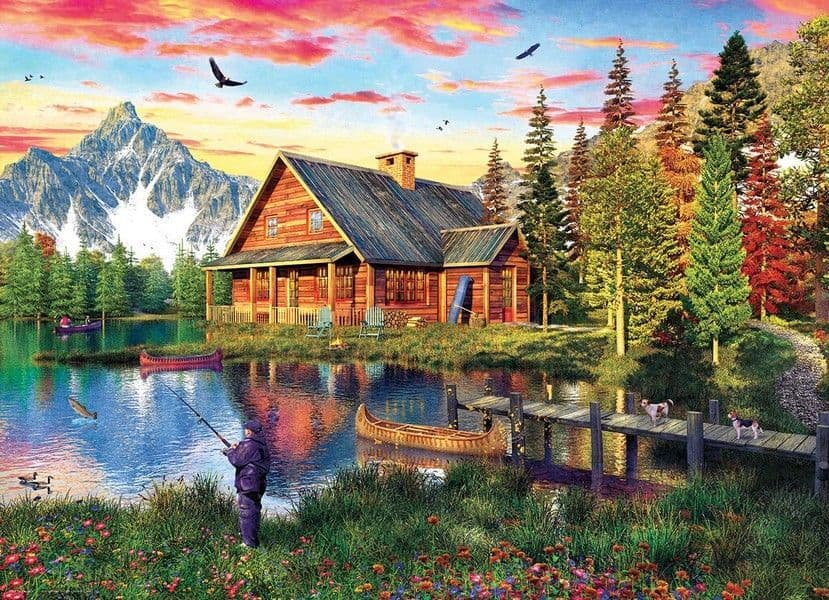 The Fishing Cabin - 1000 Pieces