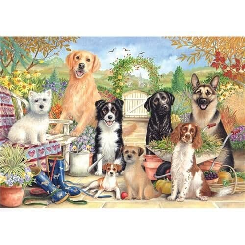 Waiting for Walkies - 500 Pieces