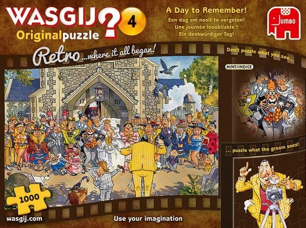 Wasgij Retro 4 - A Day to Remember |Yorkshire Jigsaw Store