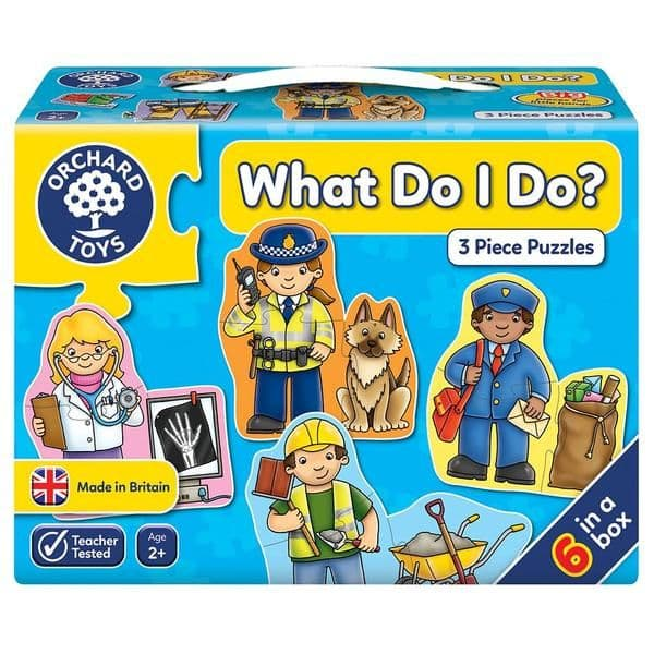 What Do I Do? Jigsaw Puzzle |Orchard Toys