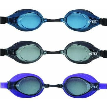 Intex Pro Racing Goggles in 3 Colours (8+ Years)