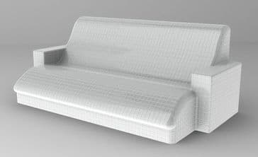 Untiled Relax Profile Bench - Including Armrests