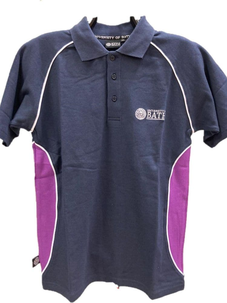 AV Polo Shirt Navy & Purple