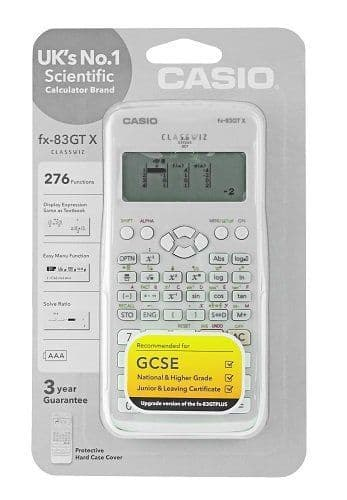 Casio FX-83 GTX White