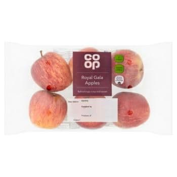 Co-op 6 Royal Gala Apples