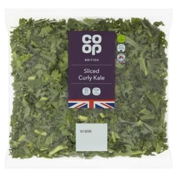 Co-op British Sliced Curly Kale