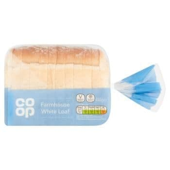 Co-op Farmhouse White Loaf 440g