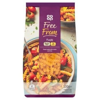 Co-op Free From Fusilli 500g